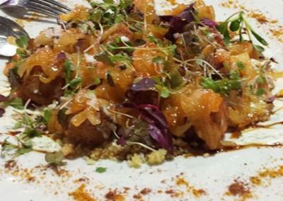 Falafel con kumquat de málaga (kumquat_mmm…)